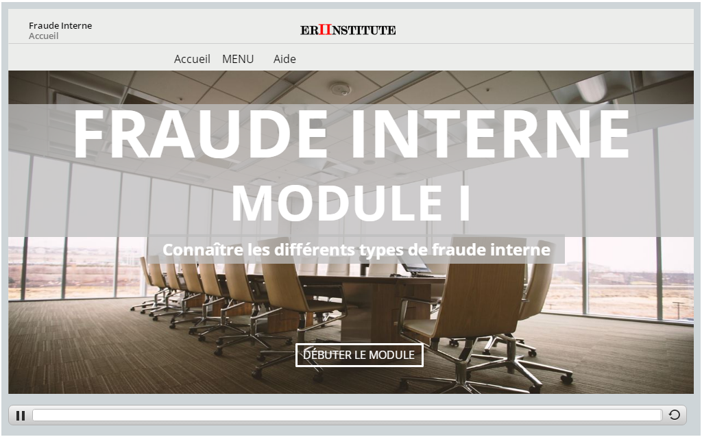 Fraud Interne e-learning