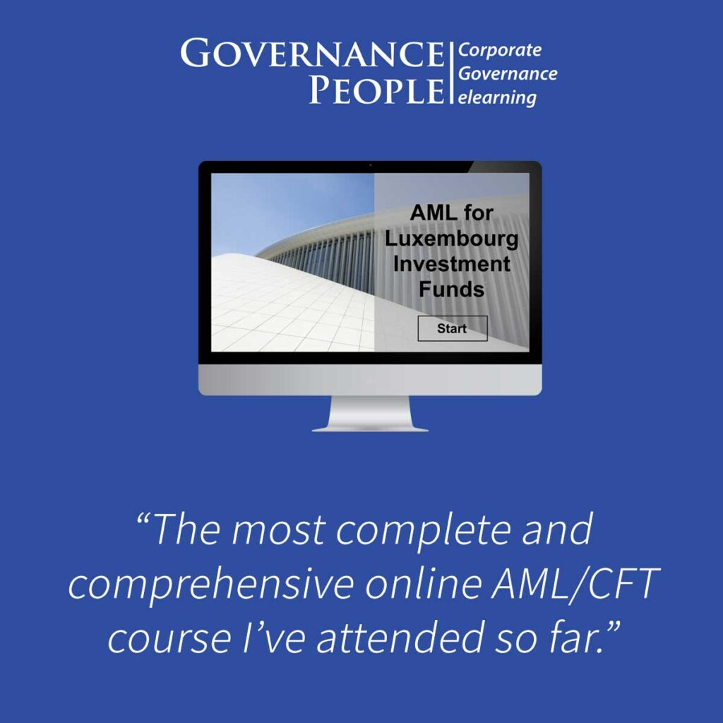 aML CFT Luxembourg Investment Funds elearning course